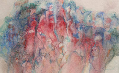 Painting - A Meeting Of Minds by Adele Greenfield