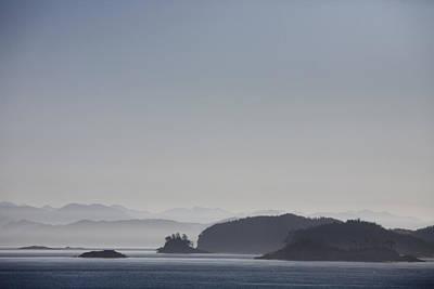 A Misty Afternoon On Haida Gwaii Print by Taylor S. Kennedy