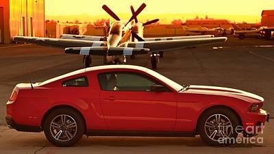 A Mustang Among Mustangs Original by Gus McCrea