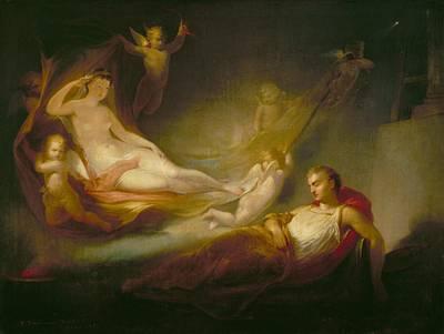 Zodiac Painting - A Painter's Dream by Thomas Buchanan Read