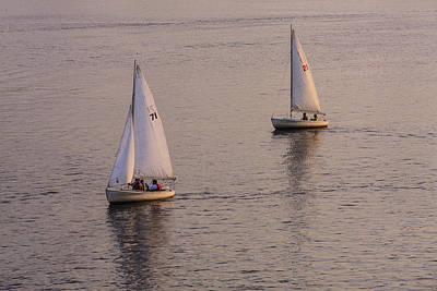 Sailboat Photograph - A Pair by Rick Berk