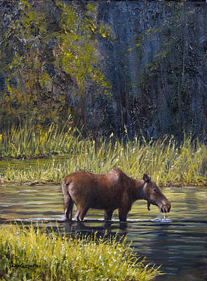 A Peaceful Place Print by Dee Carpenter