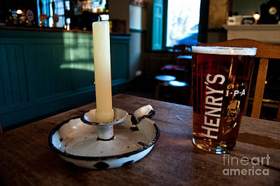 A Pint Of Henry's Print by Rob Hawkins