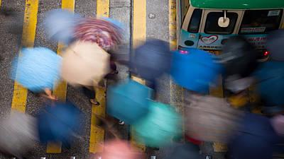 Rainy Day Photograph - A Rainy Day  by Kam Chuen Dung