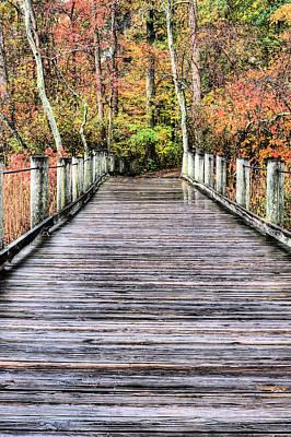 A Stroll Through Autumn Print by JC Findley