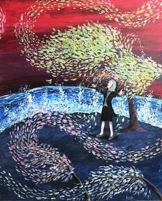 Painting - A Symphony Of Life by Katchakul Kaewkate