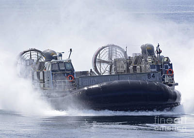 A U.s. Marine Corps Landing Craft Air Print by Stocktrek Images