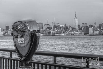 New York City Skyline Photograph - A View From New Jersey II by Clarence Holmes