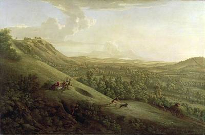 Surrey Painting - A View Of Boxhill - Surrey by George Lambert