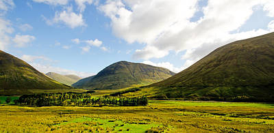 A View Over Rannoch Moor Print by Chris Thaxter