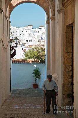 A Walk In Spain Print by Jim Chamberlain