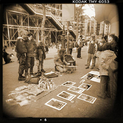 Holga Camera Photograph - A Walk Through Paris 6 by Mike McGlothlen