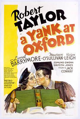 Maureen Photograph - A Yank At Oxford, Maureen Osullivan by Everett