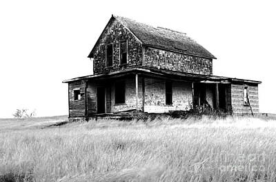 Abandoned And Alone Print by Bob Christopher