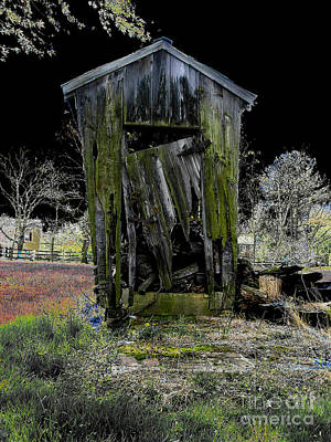 Abandoned Print by Cindy Roesinger