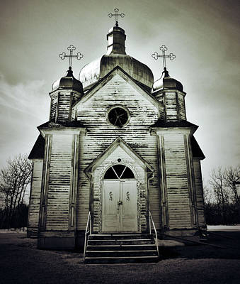 Abandoned Prayers Print by JC Photography and Art