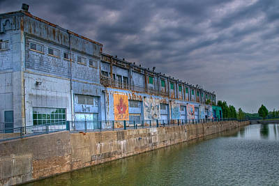 Old Montreal Photograph - Abandoned Warehouse by Mike Horvath