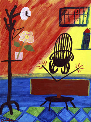 Imprisonment Painting - Abductees by Eppo Cardelo