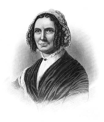 Abigail Photograph - Abigail Fillmore (1798-1853) by Granger