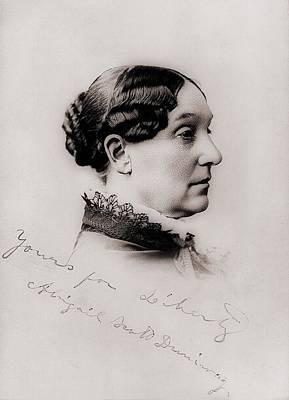 Abigail Photograph - Abigail Scott Duniway 1834-1915, Was An by Everett