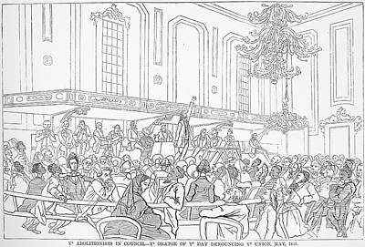Abolition Photograph - Abolition Cartoon, 1859 by Granger