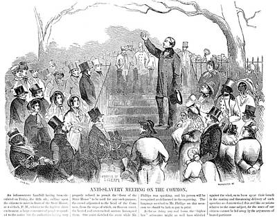 Abolition Photograph - Abolition: Phillips, 1851 by Granger