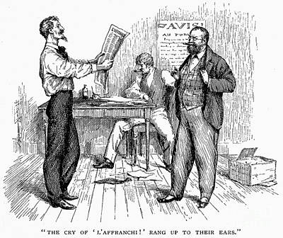Abolition Photograph - Abolitionist Newspaper by Granger