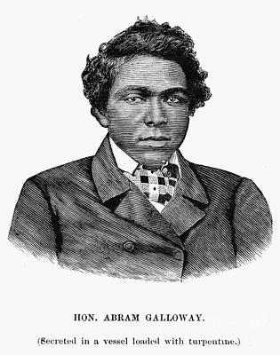 Abram Galloway Print by Granger