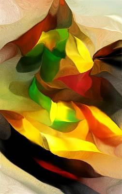 Abstract 080512 Print by David Lane