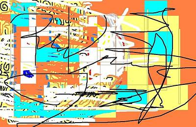 Abstract 15 Print by Jerry Conner