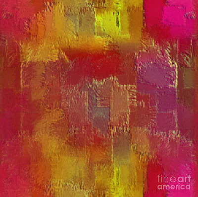 Abstract 258 Print by John Krakora