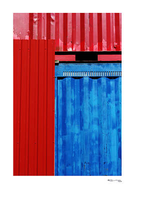 Xoanxo Photograph - Abstract Construction by Xoanxo Cespon