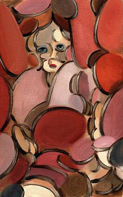 Doll Painting - Abstract Doll by TOmmervik