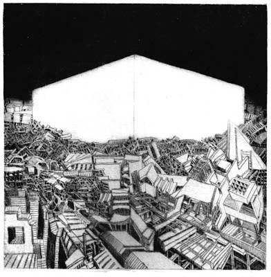 Abstract Europe 2054 Original by Waldemar  Szysz