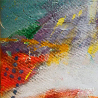 Nappy Head Art Painting - Abstract Landscape by Robert Daniels