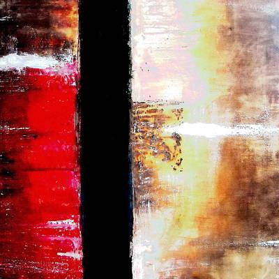 Ageless Painting - Abstract Modern Art Ageless II by Pristine Cartera Turkus