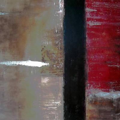Ageless Painting - Abstract Modern Art Ageless IIi by Pristine Cartera Turkus