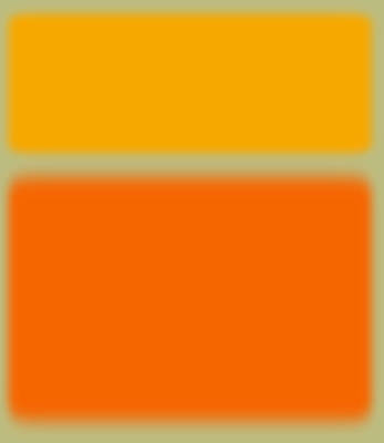 Abstract Orange And Yellow Print by Naxart Studio