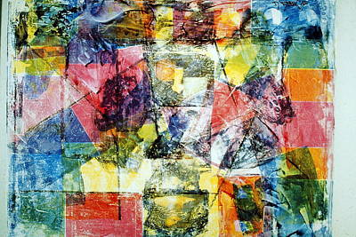 Abstract Painting Print by David Deak