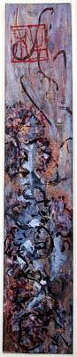 Openness Painting - Abstract Sumi Ink Design - Energy by Margaret Ann Johnson Wilmot