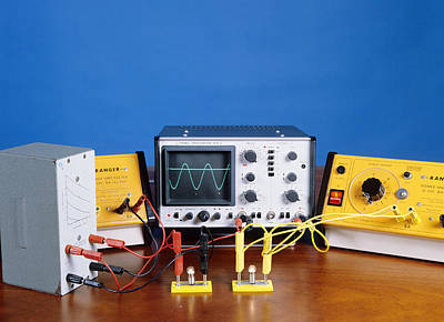 Ac And Dc Power Supplies Print by Andrew Lambert Photography