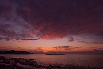 Acadia Dawn Original by Steve Gadomski