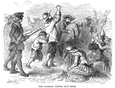 Acadian Expulsion, 1775 Print by Granger