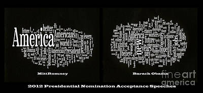 Barack Obama Photograph - Acceptance Speeches by David Bearden