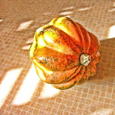 Acorn Digital Art - Acorn Squash by Bonnie Bruno