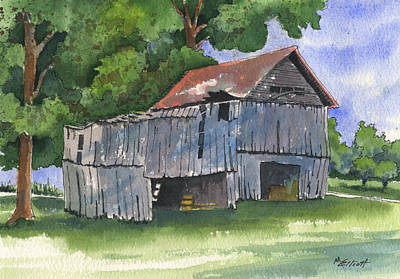 Across From Andies Print by Marsha Elliott