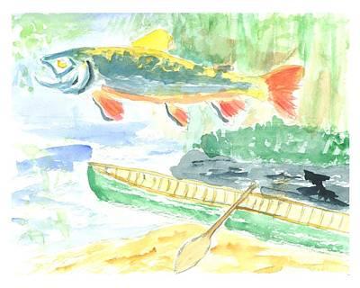 Adirondack Dreaming Print by David Crowell
