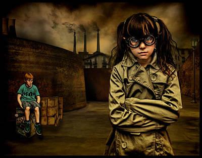 Raul Photograph - Adolescentes by Raul Villalba