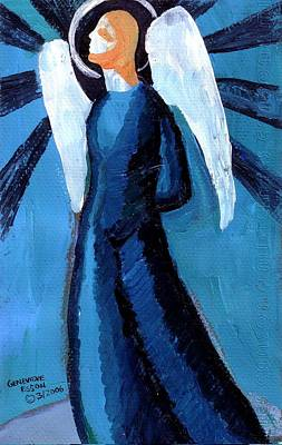 Adrongenous Angel Original by Genevieve Esson
