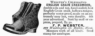 Men Shoe Photograph - Advertisement: Mens Shoe by Granger